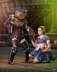Bioshock Big Sister + Little Sister 3 by Samii-Doll