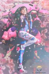 D.Va - MEKA activated by Samii-Doll