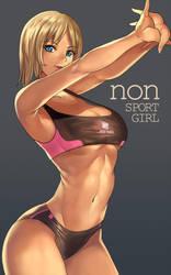 nonsummerjack-Sport Girl by whistlerx