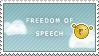 Freedom of Speech by SQUiSHtheHobo