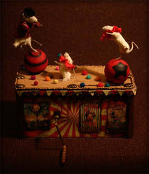 Automata taxidermy by amandas-autopsies