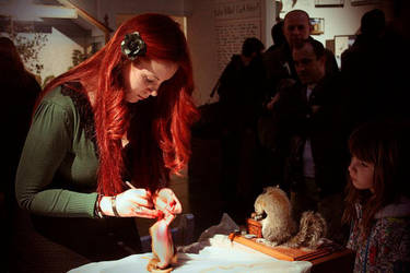 Live Taxidermy Event by amandas-autopsies