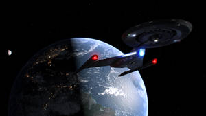 Discovery Departs Earth by Cannikin1701
