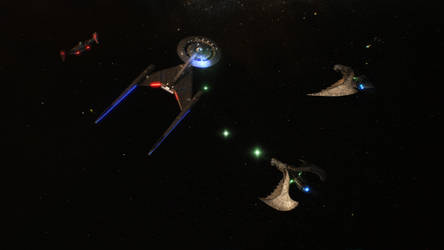 This is the USS DIscovery. We've got your back. by Cannikin1701
