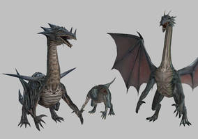 DA_Dragon pack by Nicco-and-Jake
