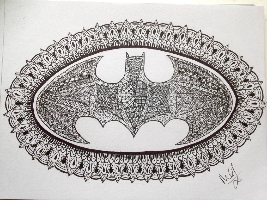 Batman Logo Doodle By Madebymelw On Deviantart
