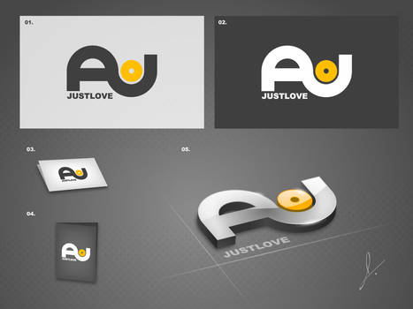 justlove AV logo by jamespeng