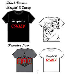 First set of T-Shirts by Rayna-Crazy