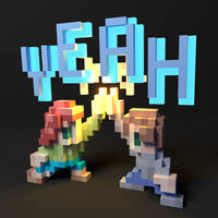feliciaYEAH Emote in 3D by panzi