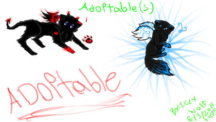 Adoptibul good and bad kitten by 5cat5cat