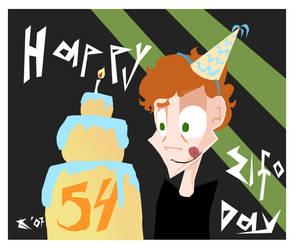 Happy Birthday, Mr. Elfman by ladykenobi