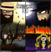WWE WrestleMania 31 by TheFullNelsonPress