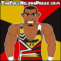 Jason Jordan (2016 SmackDown Tag Champions) by TheFullNelsonPress