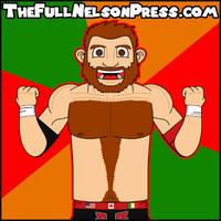 Sami Zayn (2015 WWE Debut) by TheFullNelsonPress