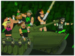 D-Generation X by TheFullNelsonPress