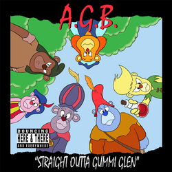 Straight Outta Gummi Glen by miceandducks