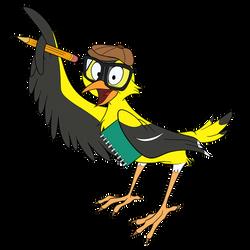 Finch by miceandducks