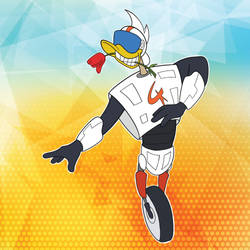 Gizmoduck by miceandducks