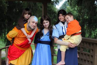 Avatar Family by Kari--Koboyashi