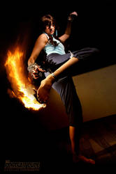 Fire Kick by Kari--Koboyashi