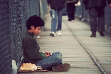 Begging for hope by k-fer