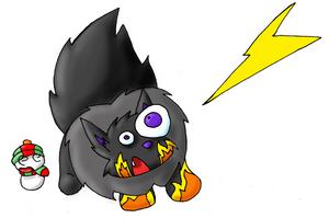 Fear the ray by foxumon