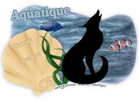 Aquatique Cert by foxumon