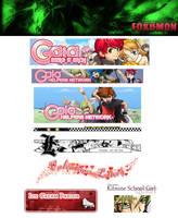Random Banners by foxumon