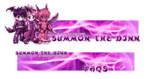 Summon the Djnn Banners by foxumon