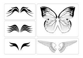 Wing Tattoos by foxumon