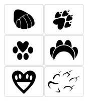 Paw Tattoos by foxumon