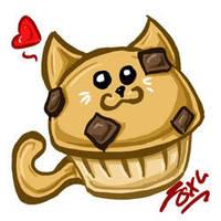 Muffin Cat by foxumon