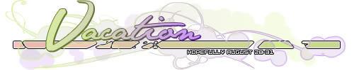 Vacation signature by foxumon