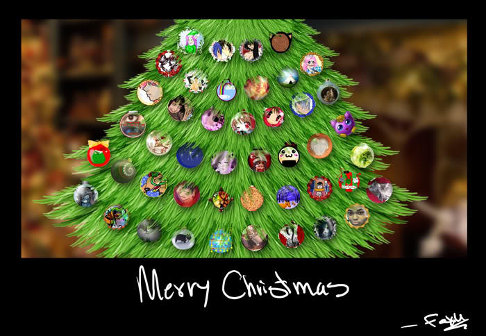 Ornament Tree by foxumon
