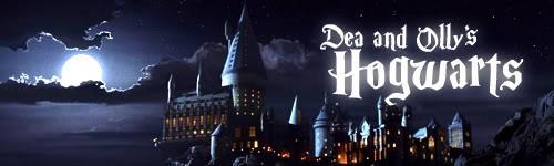 Dea and Olly's Hogwarts by foxumon