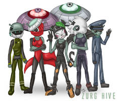 Zurg Hive Pride by foxumon