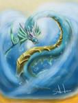 Leviathen by LluhnarDragon