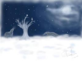 Winter by LluhnarDragon