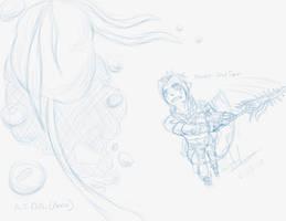 Prize- 'Haseo Slash' by LluhnarDragon