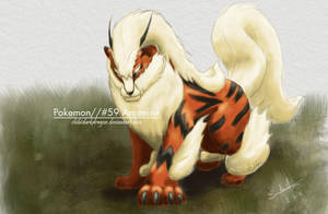 Color: 'Arcanine' Updated by LluhnarDragon