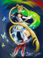 Sailor Moon: Crisis Make Up! by LluhnarDragon