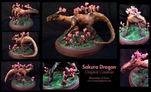 Sakura Dragon by LluhnarDragon