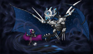 Weird's Dragons by LluhnarDragon
