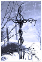 crossed branches by negromante