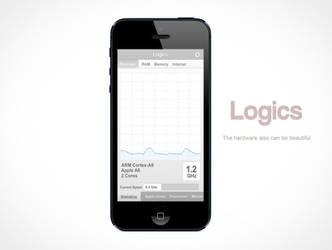 Logics - App for iPhone - Conceptual by TheNewgrade