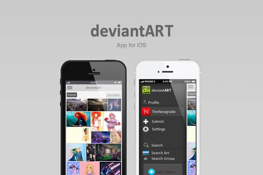 DeviantArt App by TheNewgrade