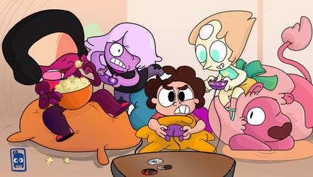 GAME TIME!! STEVEN UNIVERSE by edd00chan