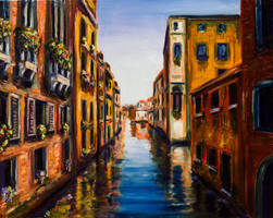 Dreams of Venice by Kevinrichardfineart
