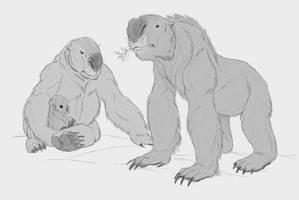 Synchisodon giganteus by macgobhain