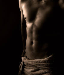 Towel and Body by SEnigmaticX